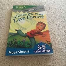 The Boy Who Would Live Forever,  Moya Simons