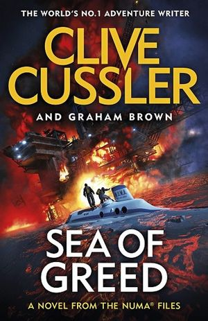 Sea Of Greed  Clive Cussler  Graham Brown