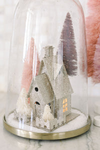 Holiday House - Mini Glitter Houses with LED Lights
