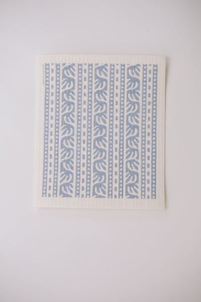 The Indo (Blue) - Swedish Dishcloth