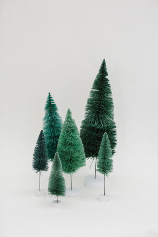 Dark Green Multi-Height Pine Trees