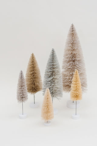 Natural Multi-Height Pine Trees