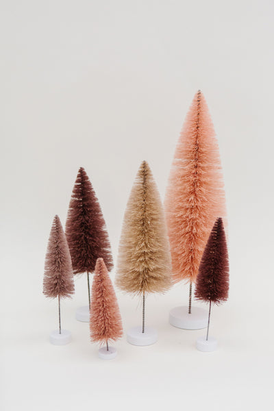 Blush Multi-Height Pine Trees