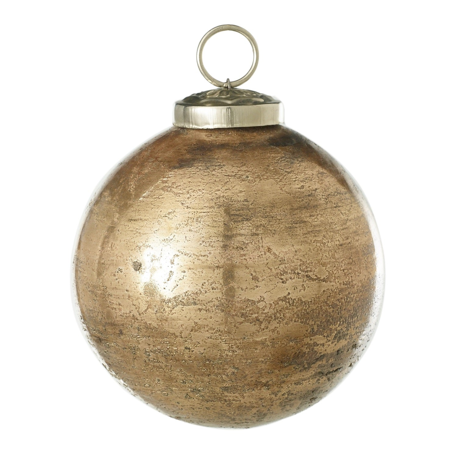 Copper Glass Ornament