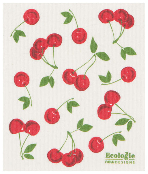 Cherries - Swedish Dishcloth