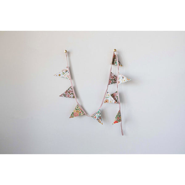 Floral Bunting Garland
