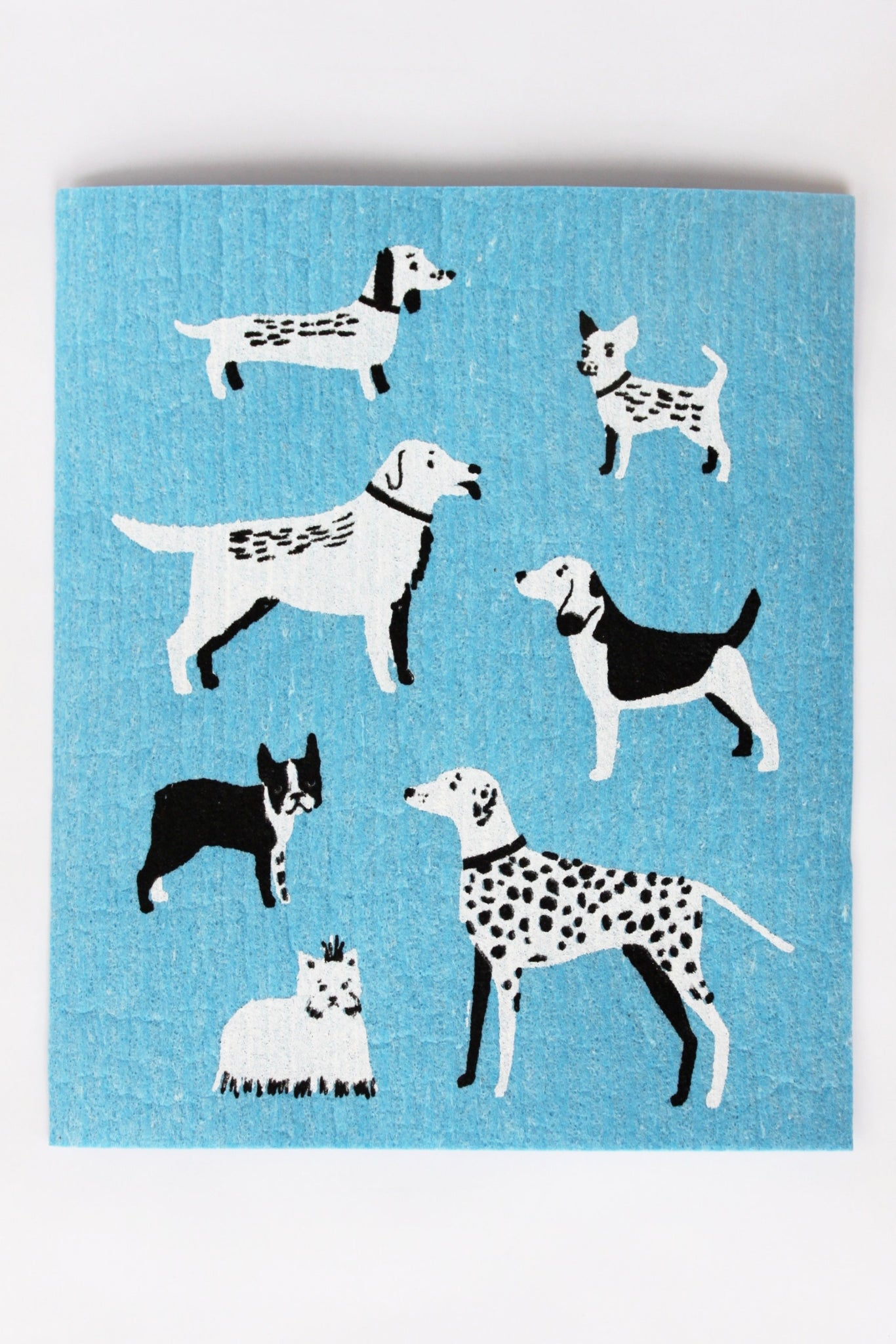 Dog Days - Swedish Dishcloth