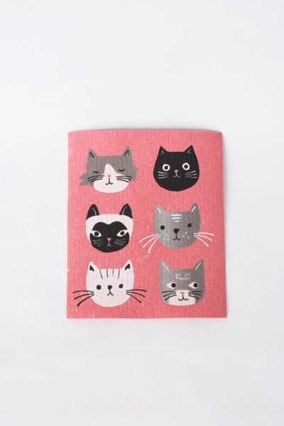Kitty Kitty - Swedish Dishcloth