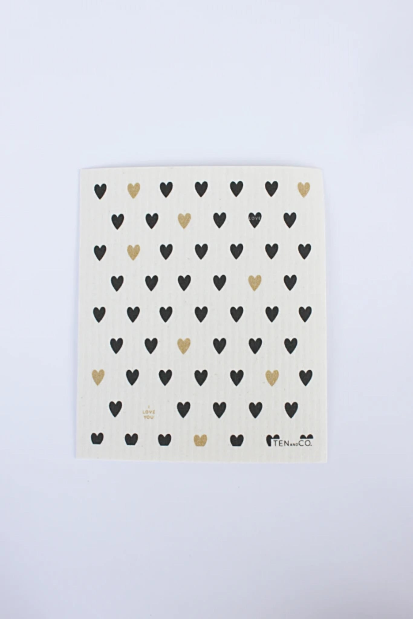 Tiny Hearts - Swedish Dishcloth
