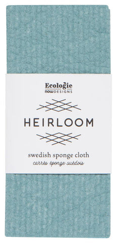 Lagoon Blue-Green - Swedish Dishcloth