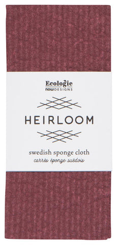 Burgundy - Swedish Dishcloth