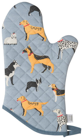 Dog Days Oven Mitt