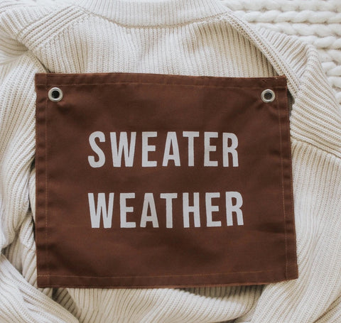 Sweater Weather Wall Hanging