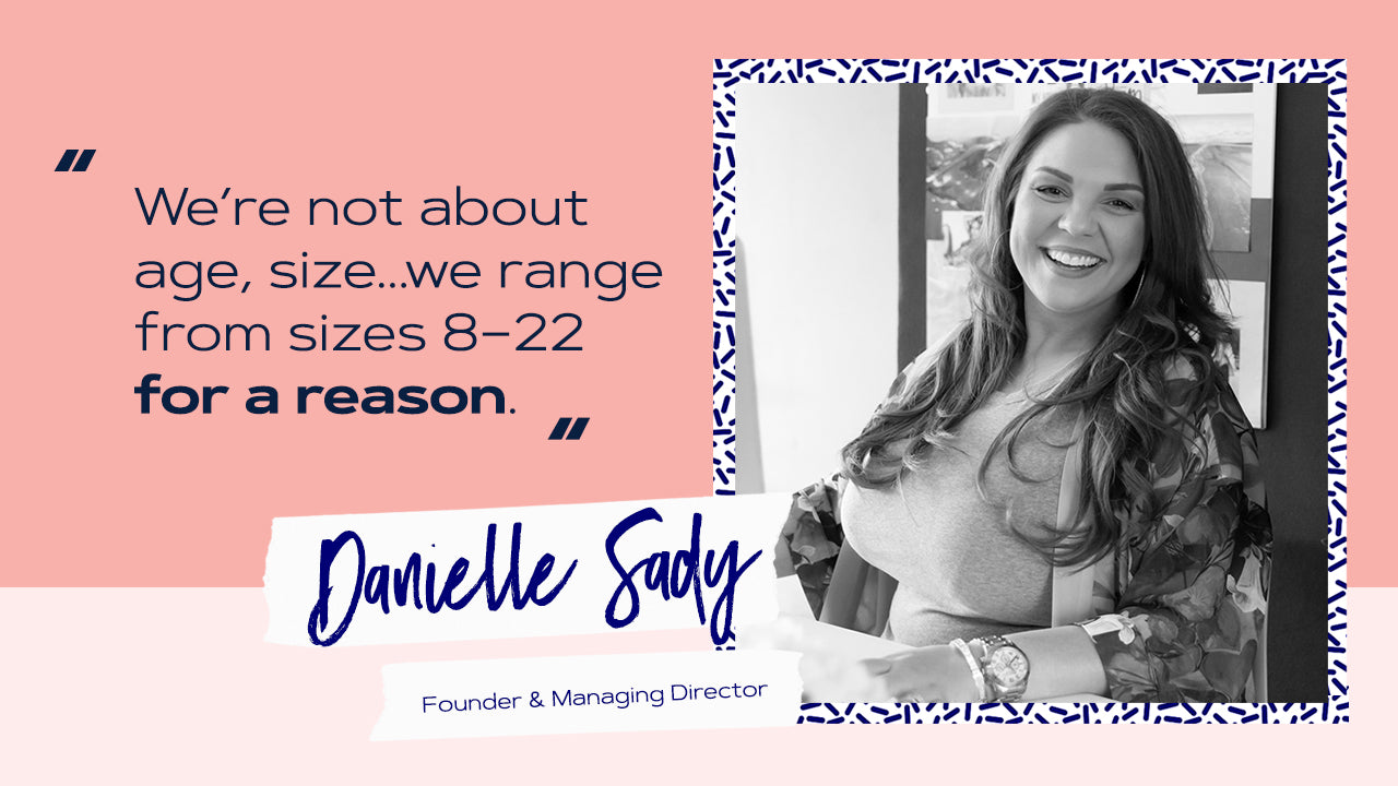 Image of Everyday Lingerie Co. founder, Danielle Sady