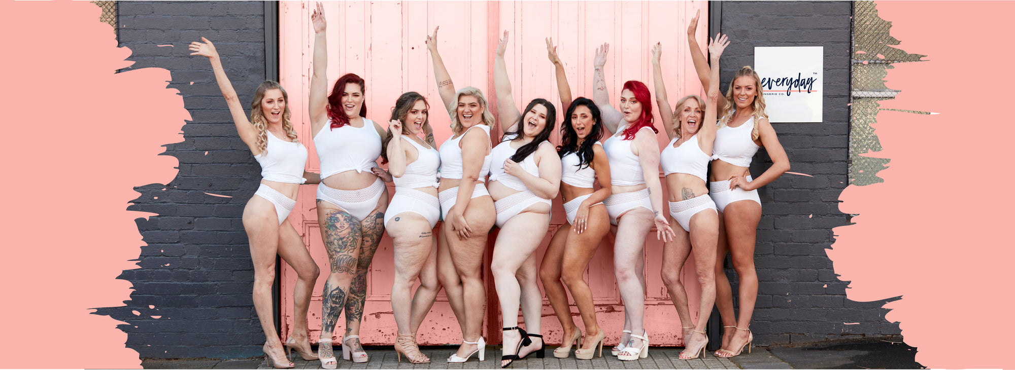 Image of Everyday Lingerie Co. Everyday Woman Models