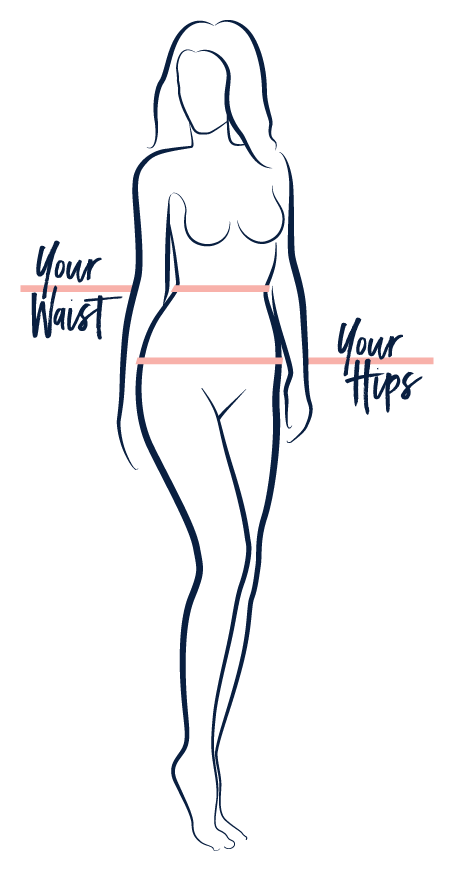 Image of silhouette of woman wearing Everyday Lingerie Co. underwear