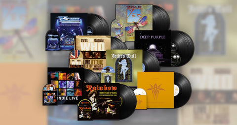 Introducing earMUSIC Classics' First Phase Of Deluxe Vinyl Reissues