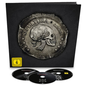 Quadra - 2 Picture Disc / 2LP / 2CD/Blu-ray Earbook