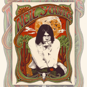 Neil Young Art Print