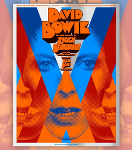 A Clockwork Bowie Art Print