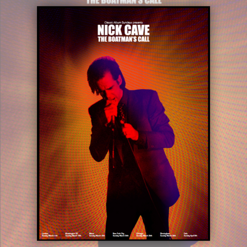 Nick Cave - Boatman's Call Art Print