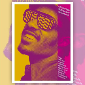 Stevie Wonder - Songs In The Key Of Life Art Print