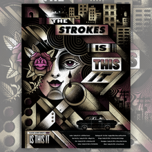 Load image into Gallery viewer, The Strokes - Is This It Art Print