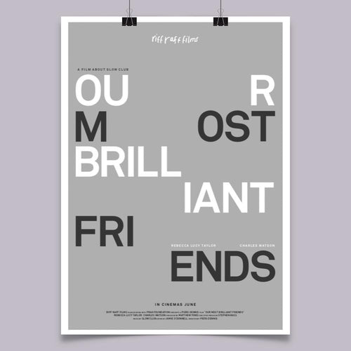 Our Most Brilliant Friends Cinema Poster
