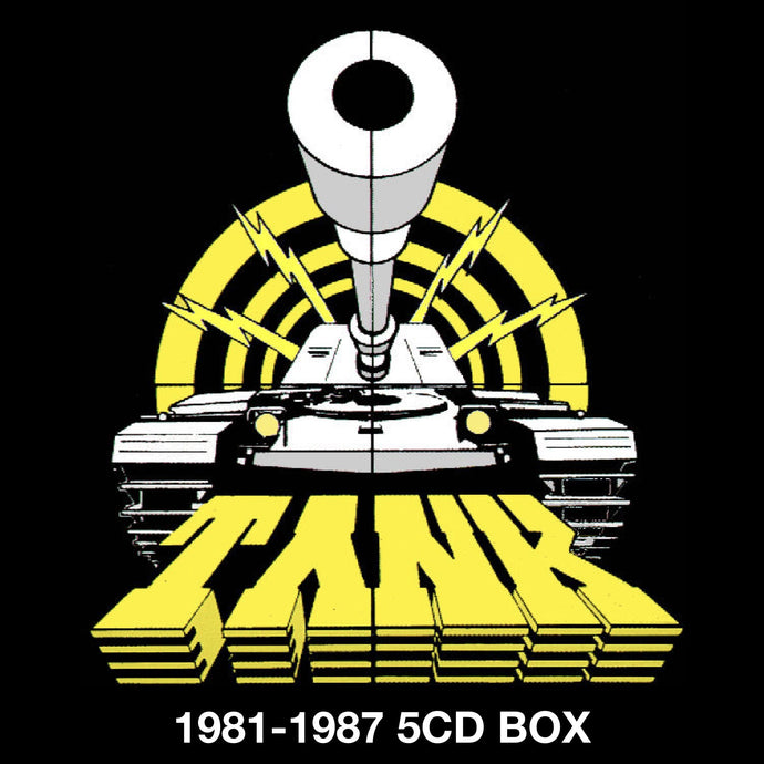Tank 1981-1987 - 5CD Box Set