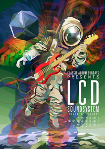 LCD Soundsystem - Sound Of Silver Art Print