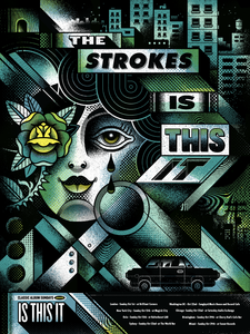 The Strokes - Is This It Art Print