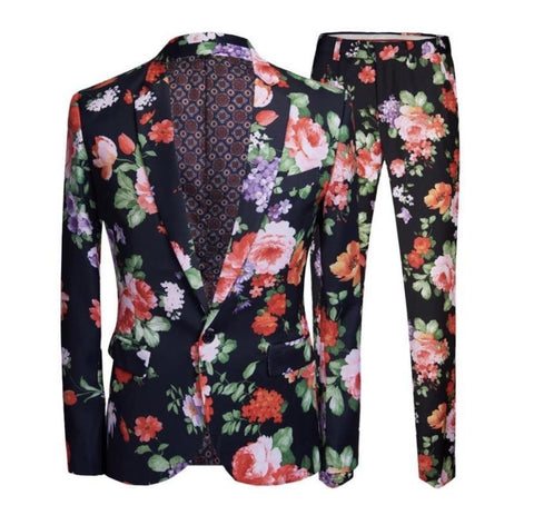 "The ""Blossom"" Slim Fit Two-Piece Suit"