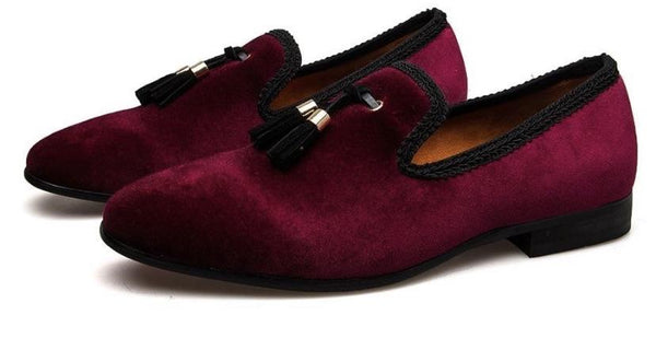 "The ""Monaco"" Slip On Tassel Loafers - Multiple Colors"