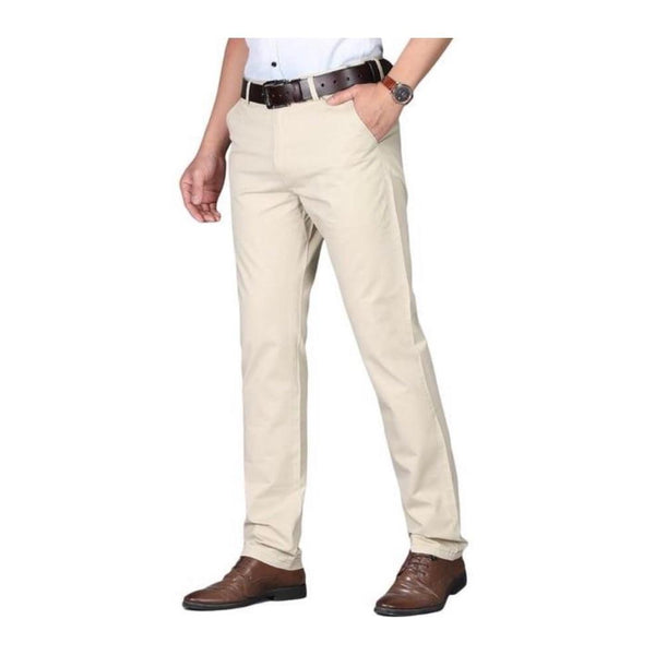 "The ""Lucas"" Modern Fit Suit Pants Trousers - Multiple Colors William // David Light Khaki 29"