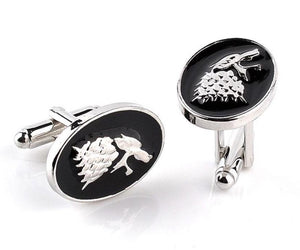 "The ""Thrones"" Luxury Cuff Links William // David"