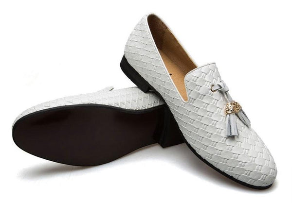 "The ""Kingston"" Leather Tassel Loafers - Multiple Colors YIGER'S Store"
