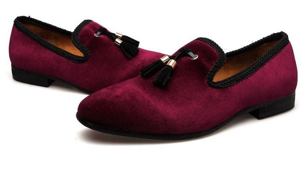 "The ""Monaco"" Slip On Tassel Loafers - Multiple Colors William // David"