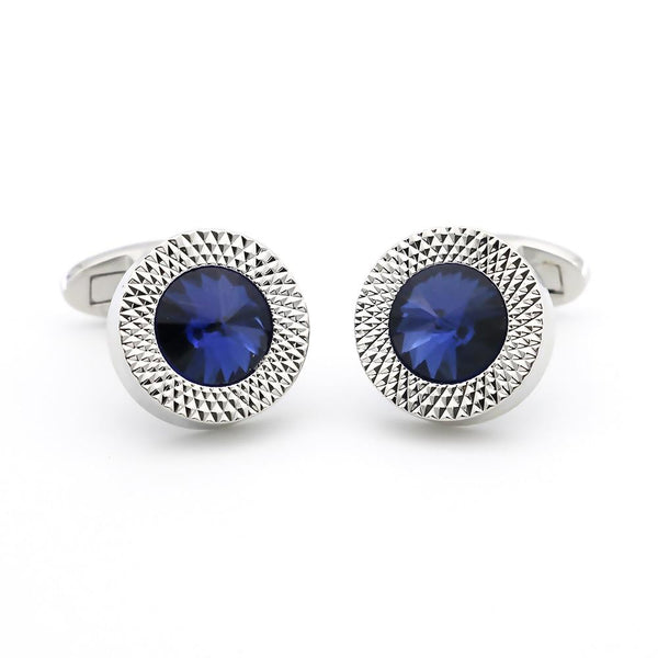 "The ""Azurite"" Luxury Cuff Links William // David"