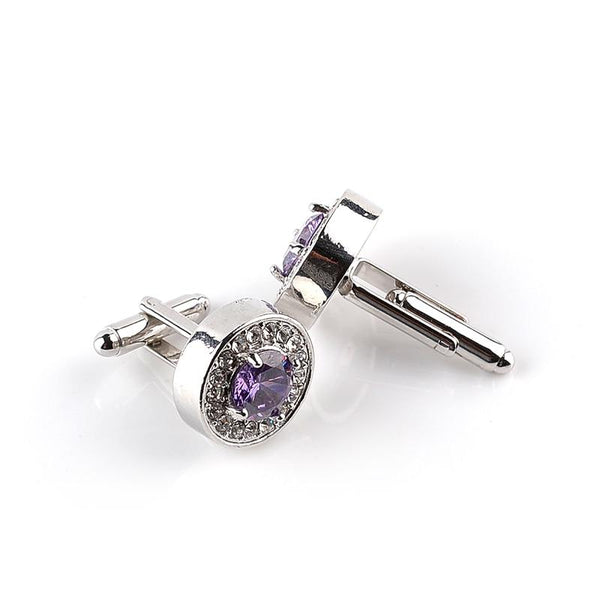 "The ""Maximus"" Luxury Cuff Links - Multiple Colors William // David"