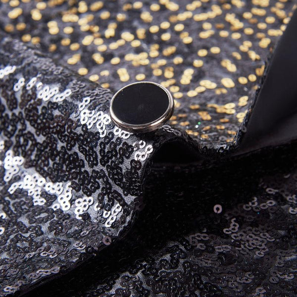 "The ""Bennett"" Sequin Slim Fit Blazer Suit Jacket"