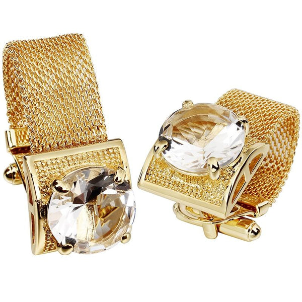 "The ""Luxe"" Chain Cuff Links - Multiple Colors William // David"