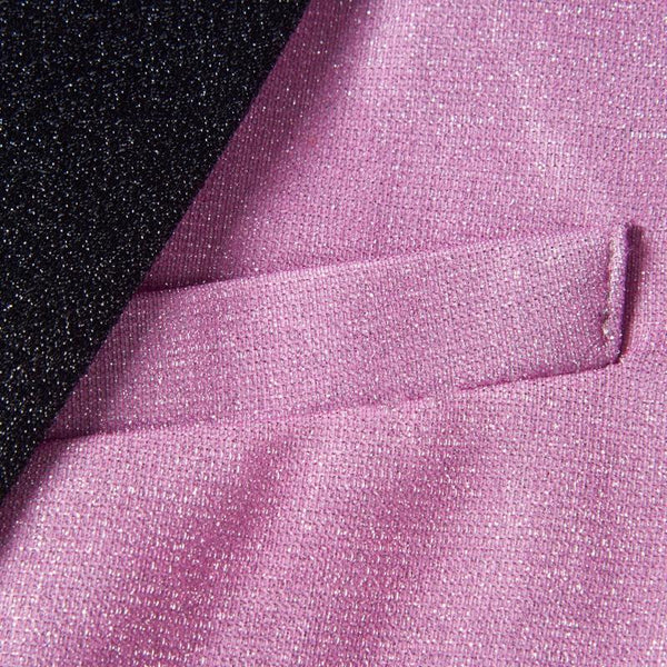 "The ""Duval"" Slim Fit Blazer Suit Jacket - Lilac William // David"