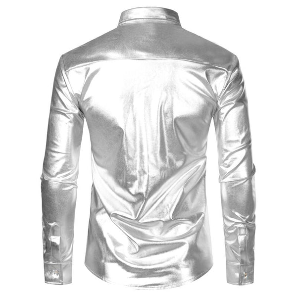 "The ""Ludwig"" Sequin Slim Fit Shirt - Multiple Colors William // David"