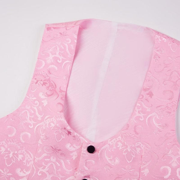"The ""Stephan"" Two Piece Slim Fit Blazer Suit Jacket - Blush William // David"