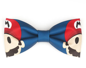 "The ""Mario"" Handmade Bow Tie Interesting emm Store"