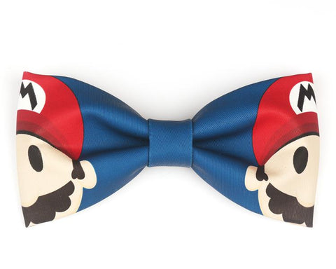 "The ""Mario"" Handmade Bow Tie"