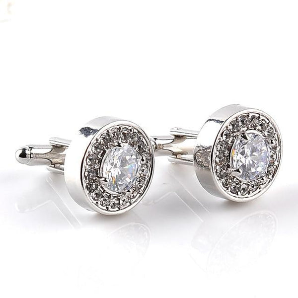 "The ""Maximus"" Luxury Cuff Links - Multiple Colors William // David Clear"