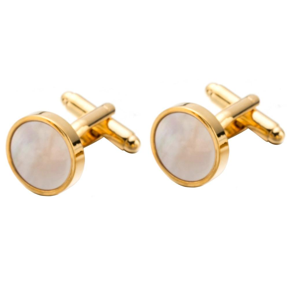 "The ""Octave"" Mother Of Pearl Cuff Links William // David"