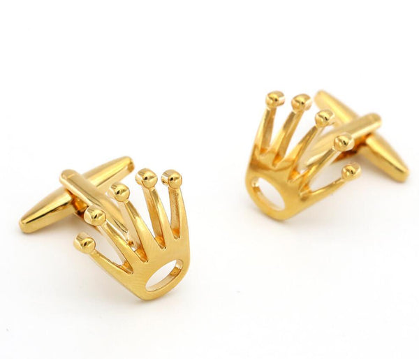 "The ""Kingsley"" Luxury Cuff Links - Multiple Colors William // David Yellow Gold"