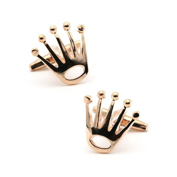 "The ""Kingsley"" Luxury Cuff Links - Multiple Colors William // David Rose Gold"